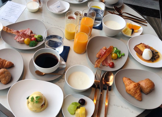 メズム東京の朝食