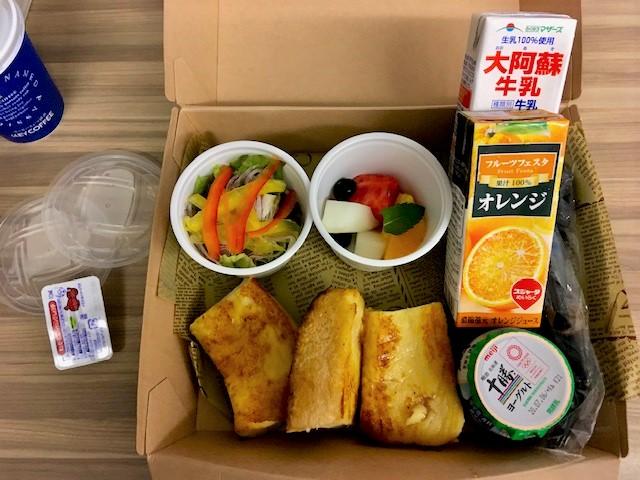 コートヤード大阪本町 朝食ボックス