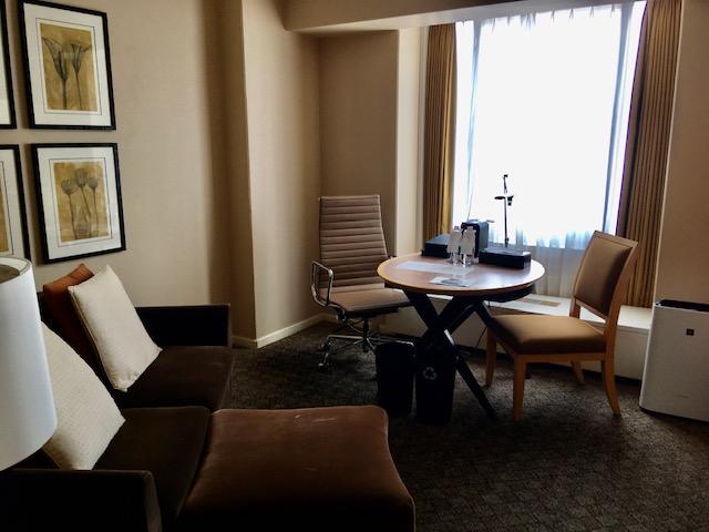 シェラトン都ホテル大阪スイートルーム