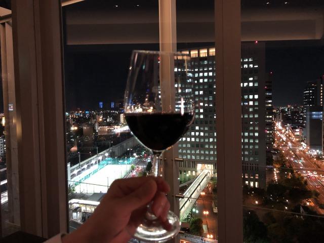 コートヤード新大阪クラブラウンジのカクテルタイム