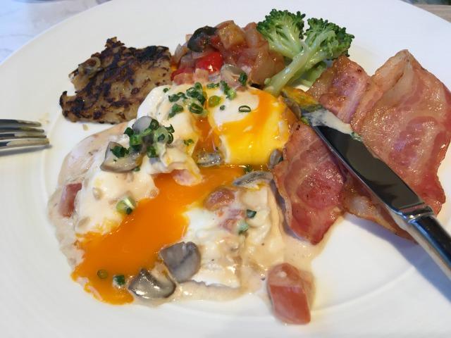 フェアフィールド大阪難波の朝食