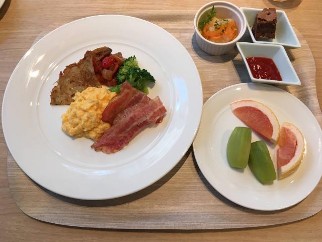 フェアフィールドマリオット大阪難波の朝食