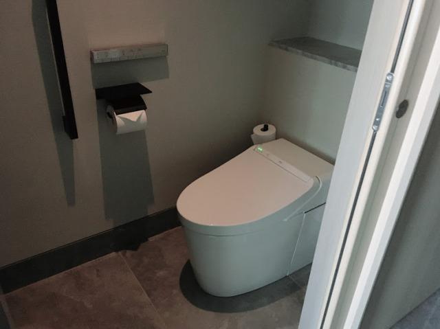 メズム東京トイレ