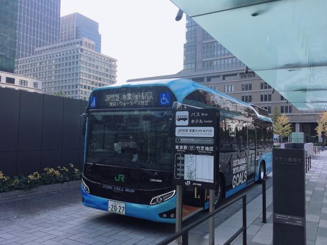 メズム東京の無料シャトルバス