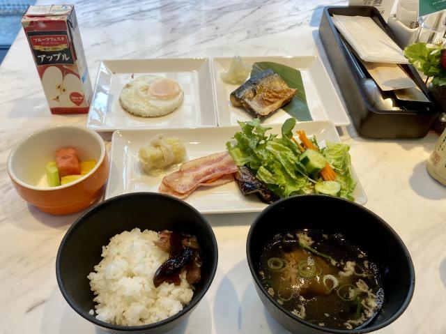 コートヤード大阪本町朝食